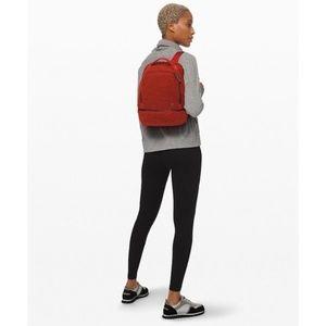 Lululemon City Adventurer Sherpa backpack orange